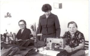 Швейный цех Березовского дома быта. 1986 г.
